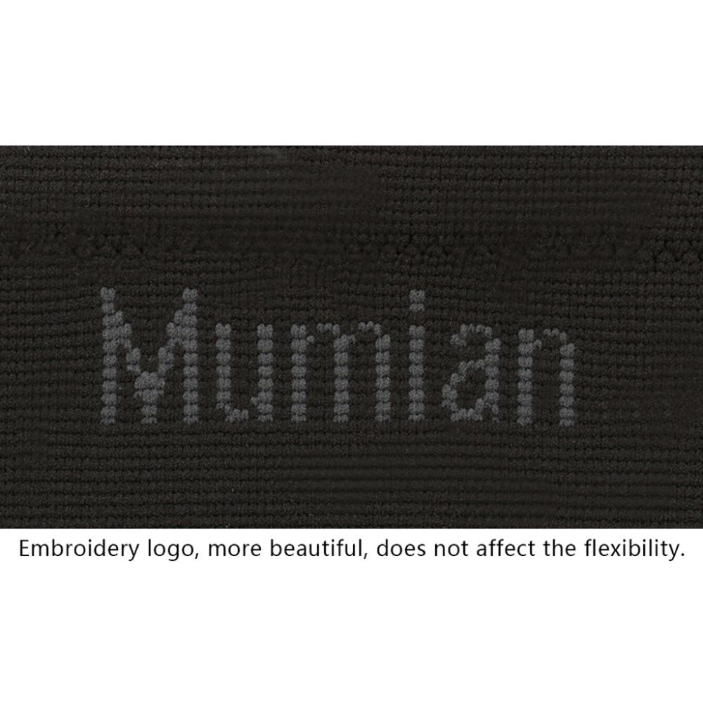 Mumian A08 Atmungsaktive Wärme Fußball Basketball Sicherheit Sport Knie Ausbildung Elastische Unterstützung Kniebandage Drop Ship