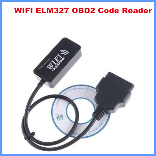Code reader Diagnostic-Tool CLK WIFI ELM327 OBD2 for Apple iPhone iPad PC iPod free shipping