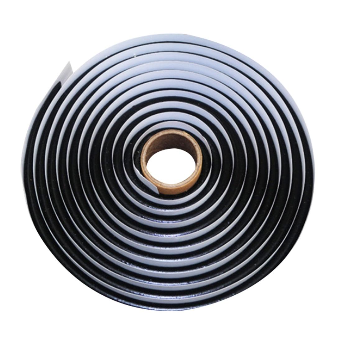 Dewtreetali Heißer 1 stück Schwarz Gummi Kleber Scheinwerfer Dichtstoff Retrofit Verschließen Hid Scheinwerfer Rücklicht Schild Kleber Bänder Für Auto