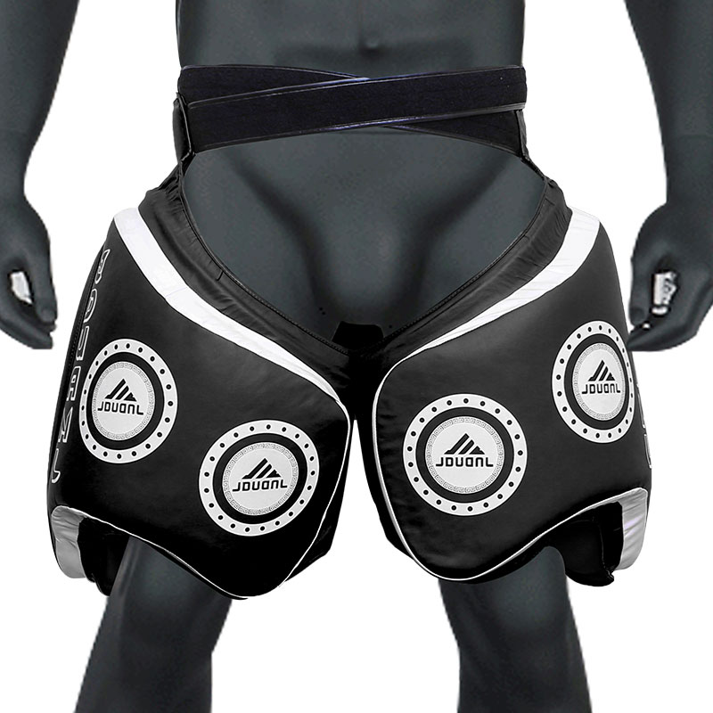 JDUanL 1PC Left/Right Thick Leg Support Boxing Pads Muay Thai MMA Legs Guards Protector Trainer Combat Sanda Karate Training DEO jduanl 1pc left right thick leg support boxing pads muay thai mma legs guards protector trainer combat sanda karate training deo
