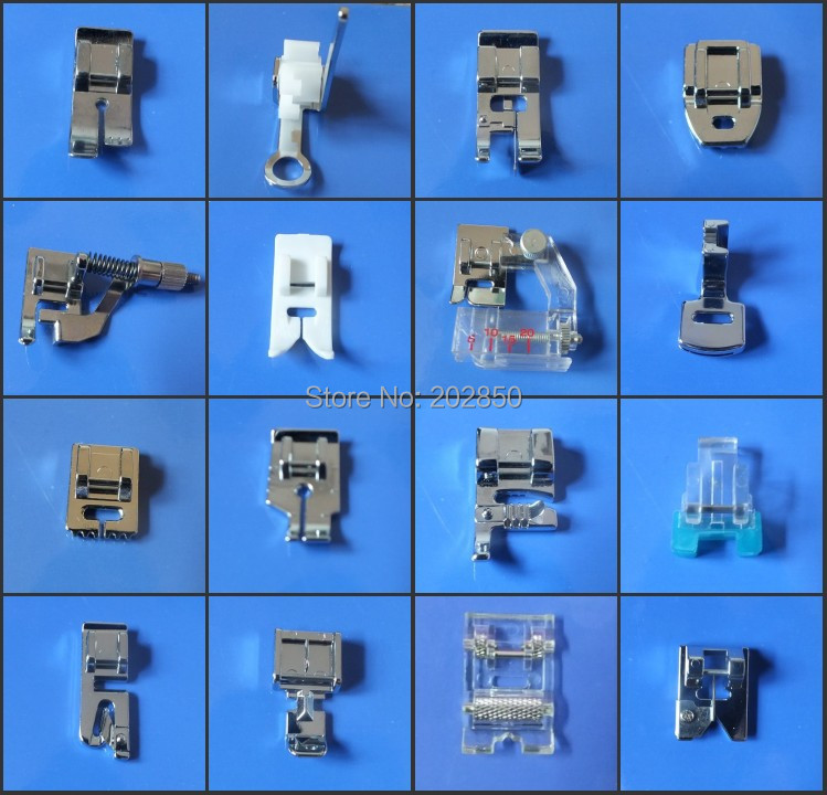 40 Pcs Different Presser Foot For Multi Function Household Sewing Best Types Of Sewing Machine Feet