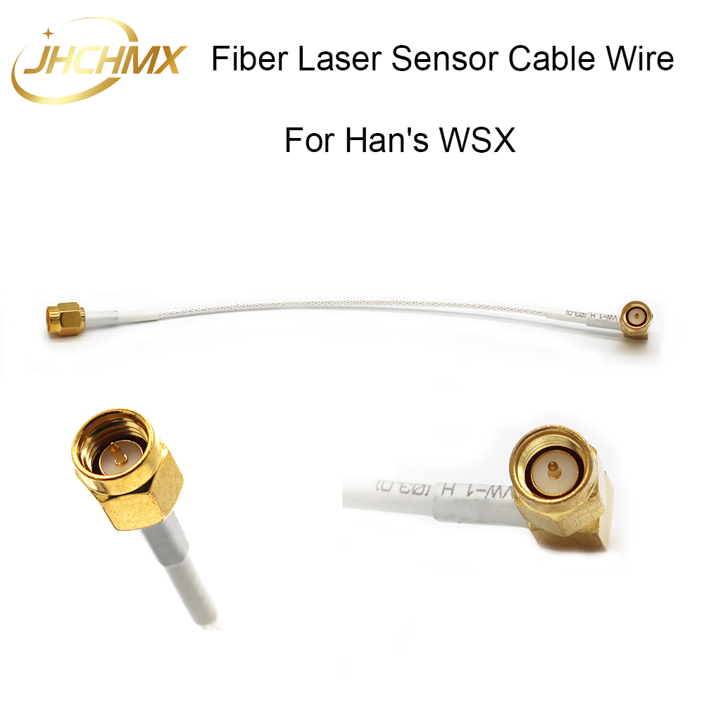 JHCHMX High Quality Fiber Laser Sensor Cable Wire Transformer Wire SMA-JJW For WSX Han's Fiber Laser Cutting Head