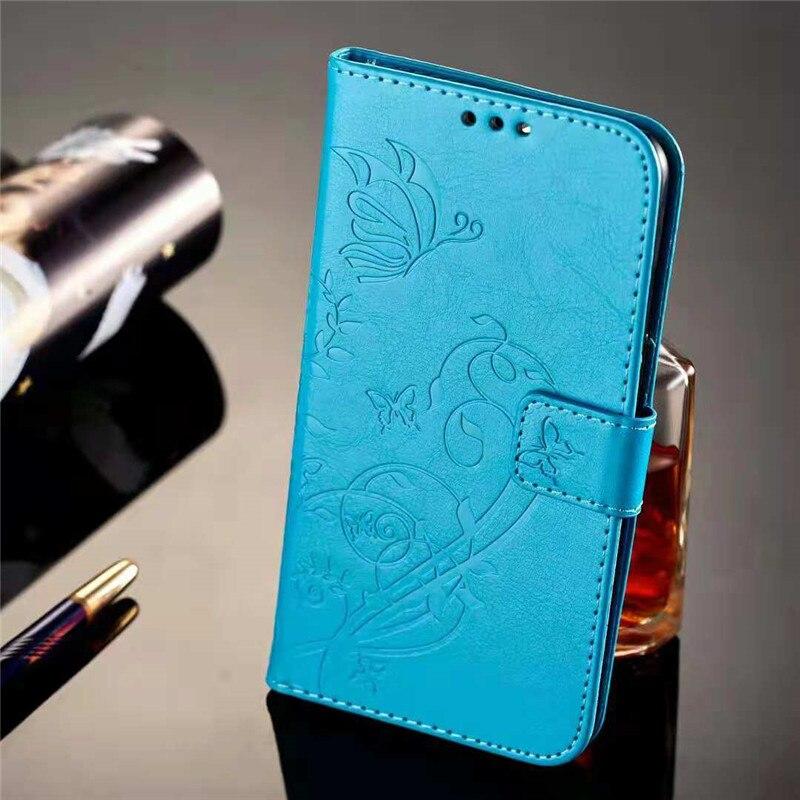 Lyxiga blommaskinnfodral för Huawei Honor 8 fodral 5,2 tums - Reservdelar och tillbehör för mobiltelefoner - Foto 5