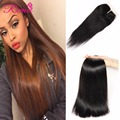 Brazilian Virgin Hair Straight With Closure Grace Hair Company Products With Closure Cheap Brazilian Hair 3 Bundles And Closure