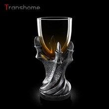 Transhome 3D череп Дракон коготь кружка Водка Вино Кубок Мощность игры Дракон коготь Орлиный коготь Стекло Кубок виски пиво Стекло готический