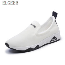 ELGEER 2018 spring new canvas shoes womens casual breathable Womens Vulcanize Shoes Sneakers