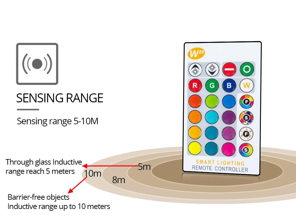 85-265V E27 LED Lamp RGB 15W Bluetooth APP Wifi Control Smart Bulb 10W RGBW RGBWW Light Bulb IR Remote Control Home Lighting (33)