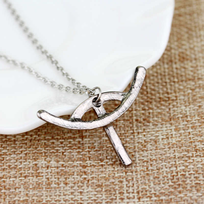 Feimeng jóias Como treinar O Seu Dragão Colar Pequeno Soluço Rei Logotipo Pingente de Colar Para As Mulheres Acessório de Moda