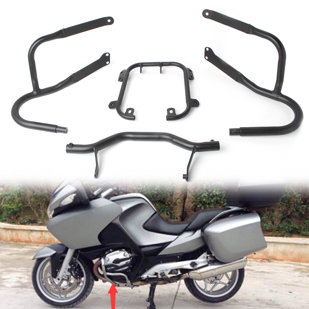 Motorbike Front Bumper Safety Highway Crash Bar Guard Protector for BMW R1200RT 2005 2006 2007 2008 2009 2010 2011 2012 2013 motorcycle anti crash device guards front protector fence bumper front side frame for honda cb400 vtec 1999 2012 2011 2010 2009