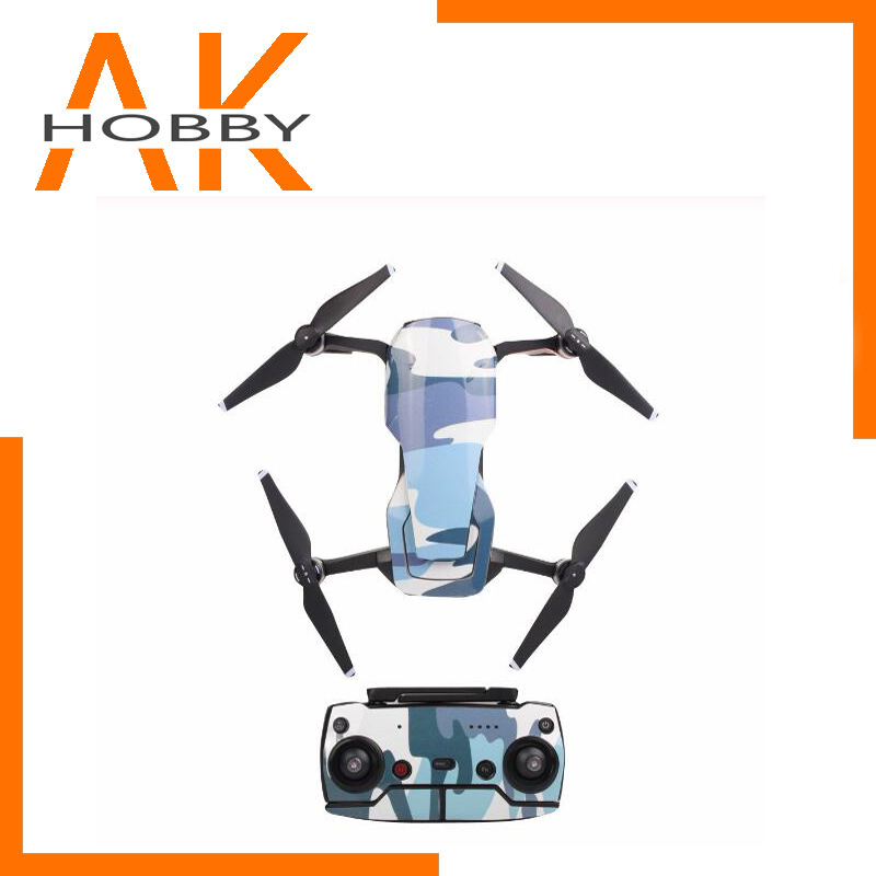 3D Water Resistance Sticker For DJI MAVIC AIR Camera Drone Decals Sky Body Shell Protection Skin Quadcopter