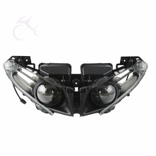 Motorcycle Motorbike LED Front Headlight Lamp Assembly For Yamaha YZF R1 2012-2014 13 14 все цены