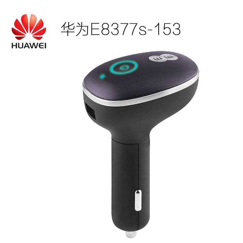 Débloqué Huawei CarFi E8377 Hilink LTE Hotspot 4G LTE Cat5 12 V voiture Wifi routeur 150 mbps routeur sans fil