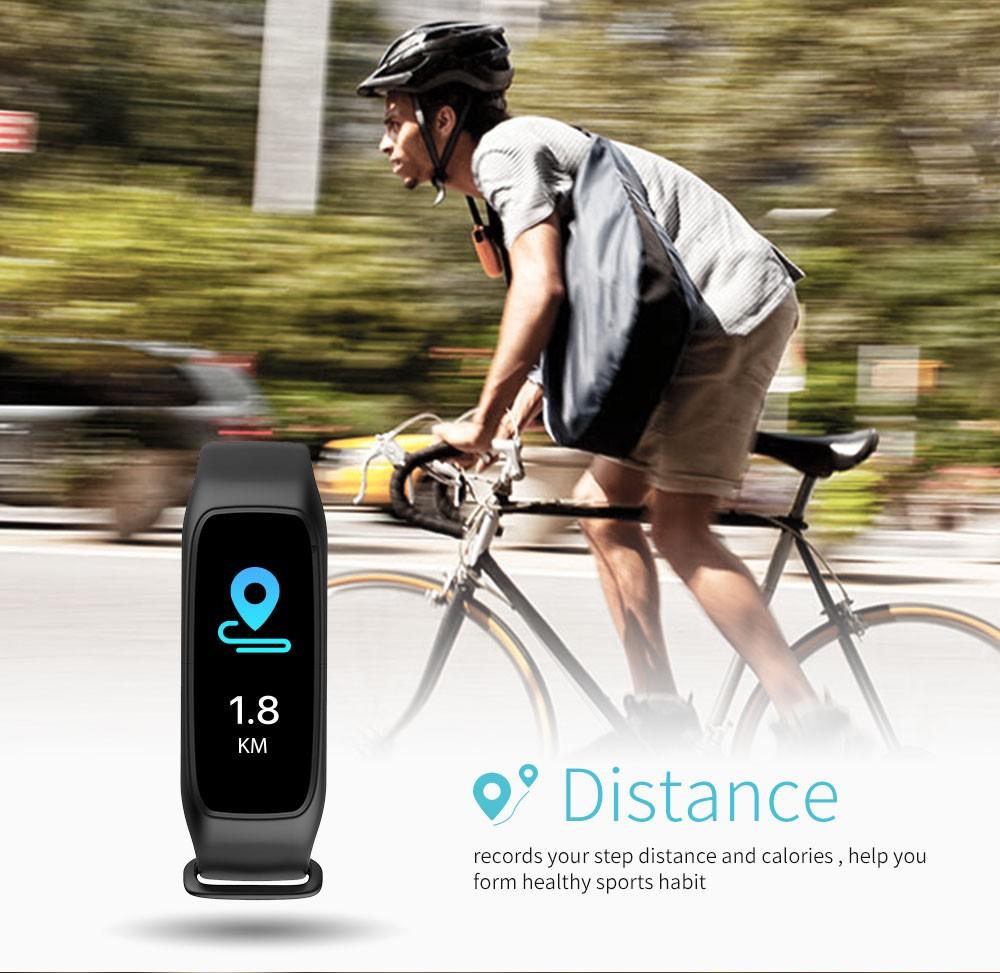 Lemfo l30t kolorowy ekran inteligentny zespół pulsometr krokomierz uśpienia fitness tracker dla andriod ios telefon 5