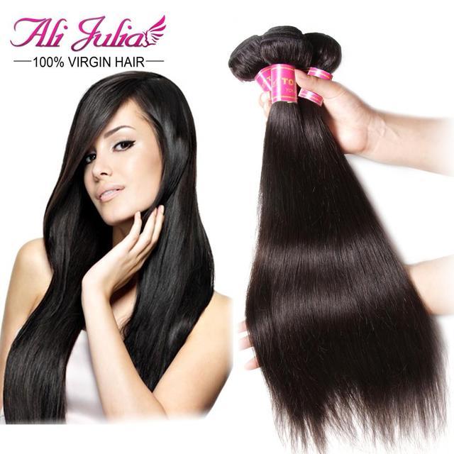 Julia Hair Products Filipino Virgin Hair Weave Unprocessed Straight
