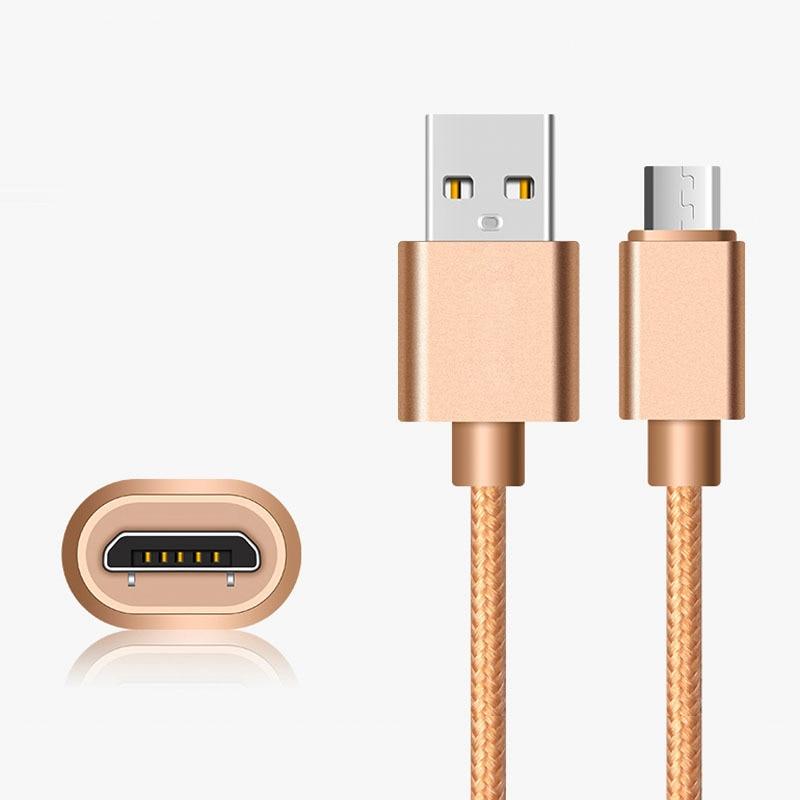 2A kabel pro rychlé nabíjení microUSB pro Samsung S7 A3 A5 A7 2016 2017 On3 On5 On7 On7 C8 C7 C6 C5 Redmi Poznámka 3 4 56 Kabely pro mobilní telefony
