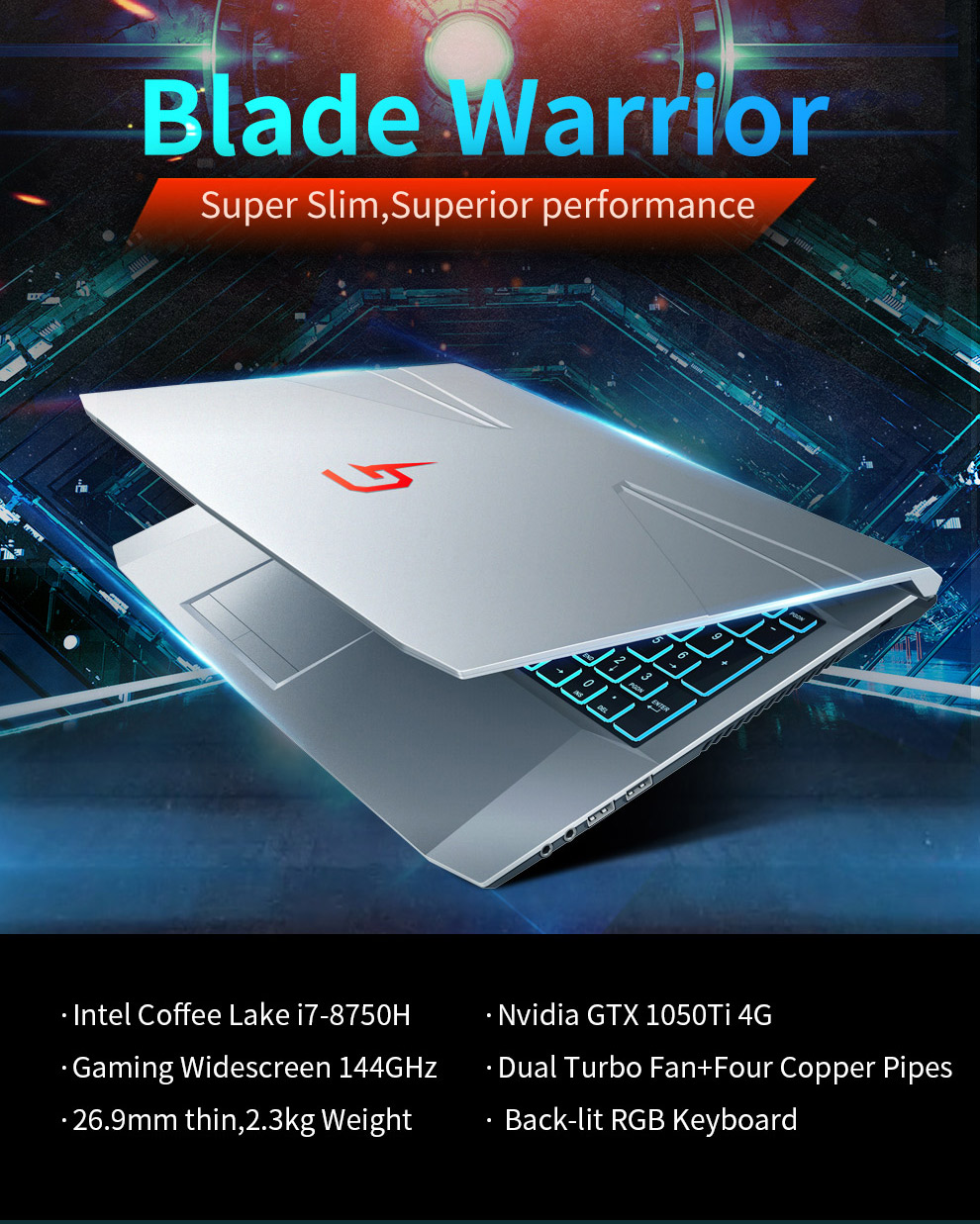 "Bben G16X I7-8750HQ DDR4 Gaming Laptop Nvidia GTX1050TI 15.6"" Laptop Pro Windows 8GB/16GB/32GB RAM M.2 SSD"