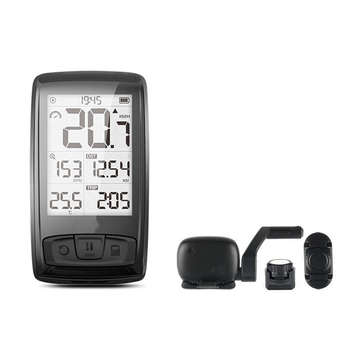Wireless Bicycle Bike Speedometer Tachometer Cadence Speed Sensor Weather with Bluetooth Heart Rate Monitor Bycicle Accessories