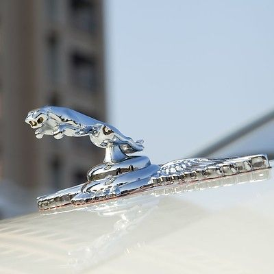 Auto Car 3D Wing Jaguar Logo Emblem Badge Bonnet Vehicle Sticker Deco Leopard - Sunshine1028 store