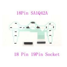 10 مجموعات تحكم إصلاح أجزاء PCB حلبة الشريط مجلس 18Pin SA1Q42A ل PS2 وحدة 2 w/ 18pin أو 19Pin المقبس موصل