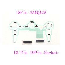 10SETS Controller Repair Parts PCB Ribbon Circuit Board 18Pin SA1Q42A for PS2 Dualshock 2  w/ 18pin Or 19Pin  Socket  Connector