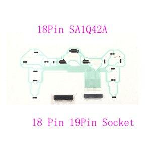 Image 1 - Peças de reparo para controlador, peças de reparo para controlador pcb fita de circuito 18pin sa1q42a para ps2 dualshock 2 w/ 18pin ou 19pin conector da tomada,