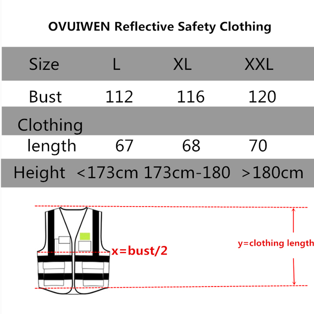 Safety protective coat for construction of reflective vest construction vehicle traffic road administration fluorescent clothes 5