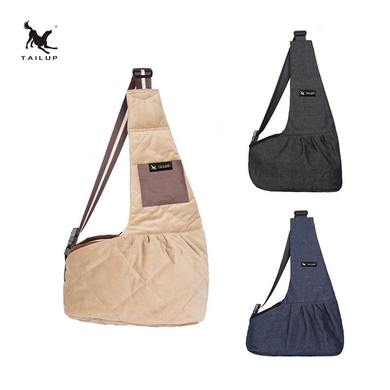 Tailup Pet Dog Sling Tassen Outdoor Winddicht Dragers Voor Kleine Katten En Puppies|dog sling bag|dog slingpet dog bag - AliExpress