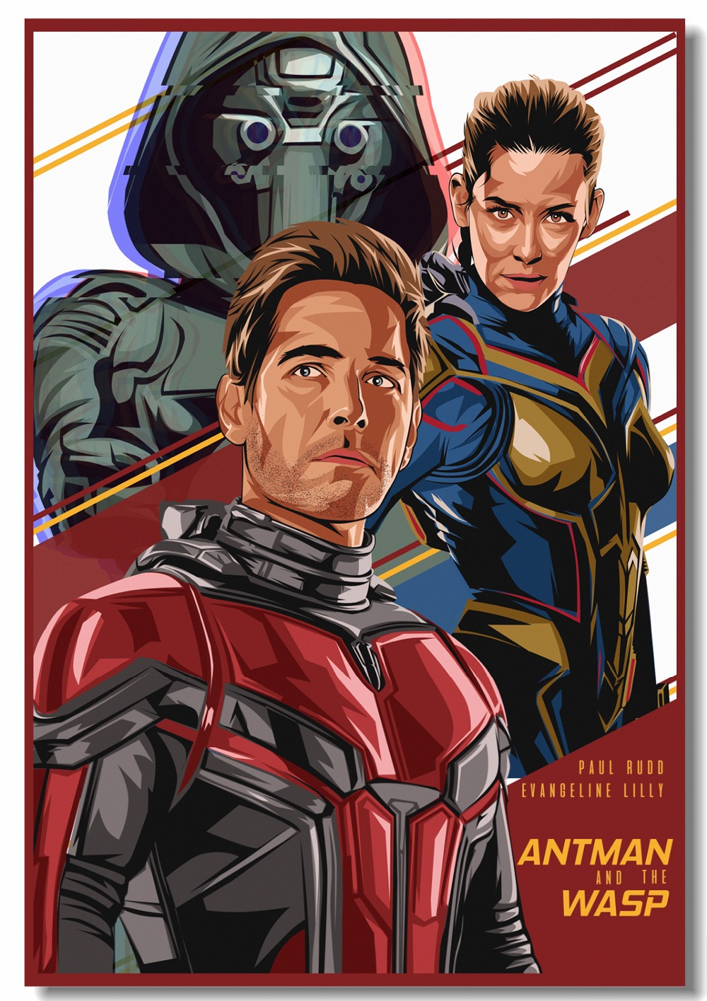 Custom Canvas Art Ant Man And The Wasp Poster Marvel Ant Man
