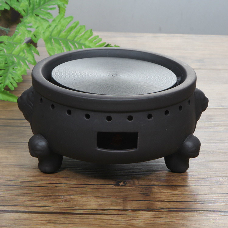 Hot Plates Ceramic furnace electric ceramic stove tea stove wholesale dual dutch piece suit yixing tea tray ceramic ru ding black dragon tea