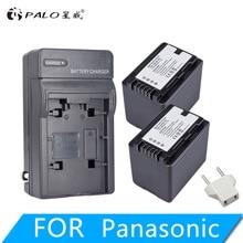 PALO 3900mAh VW-VBT380 VBT380 VW-VBT190 Battery+ USB Dual Charger for Panasonic HC-V720,HC-V727,HC-V730,HC-V750,HC-V760,HC-V770