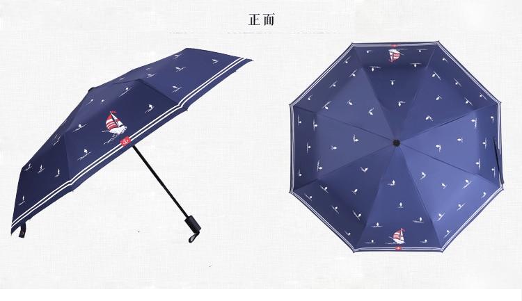 Ensolarado & Chuva Folding Umbrella Para Mulheres