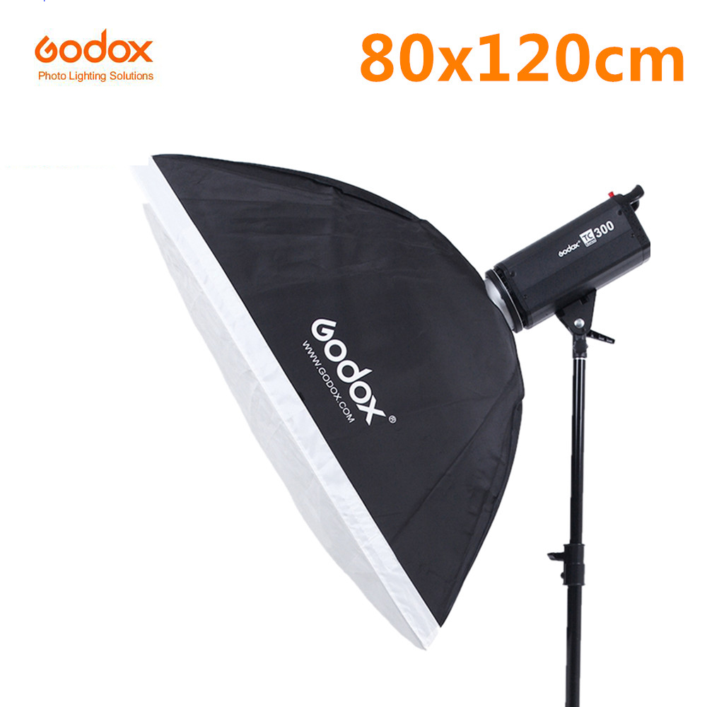 Godox SB-BW 80 x 120cm 31.5x 47 Speedlite Studio Strobe Flash Photo Reflective Softbox Diffuser for Bowens Mount