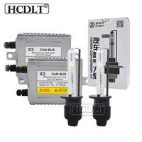 HCDLT Original Cnlight 35W Xenon Canbus HID Kit H1 H7 H11 HB3 HB4 9012 D2H Car Headlight DLT X3 Canbus Ballast 4300K 5000K 6000K