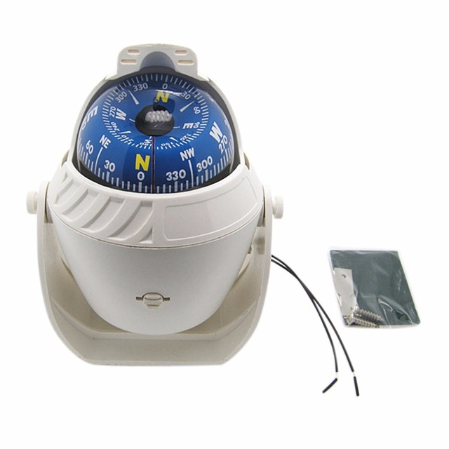 Naturehike Mulitifunctional Magnetic Sphere Marine Military Electronic Vehicle-borne Type Compass For Marine Boat Car