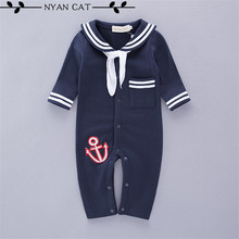 Baby sailor costume anchor romper navy costumes