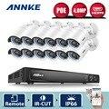 ANNKE 16-КАНАЛЬНЫЙ 1080 P 6.0MP POE Камеры Безопасности Системы и (12) 2.0MP 1920TVL Всепогодный Ip-камер
