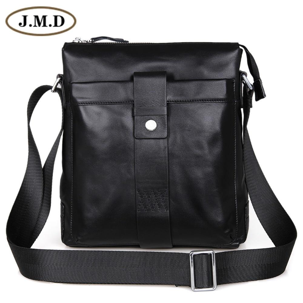 100% Guarantee Genuine Leather Popular European Style Mens Fashion Shoulder Messenger Bag 7151A guarantee 100