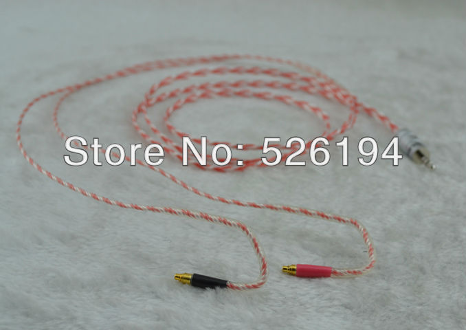Free shipping High Performance Earphone Upgrade Cable For Shur e Se535 1.5m