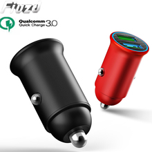 Fiuzd 36W Dual USB Quick Charge QC 3.0 Car Charger For redmi note 7 pro k20 5 6a Mobile Phone usb
