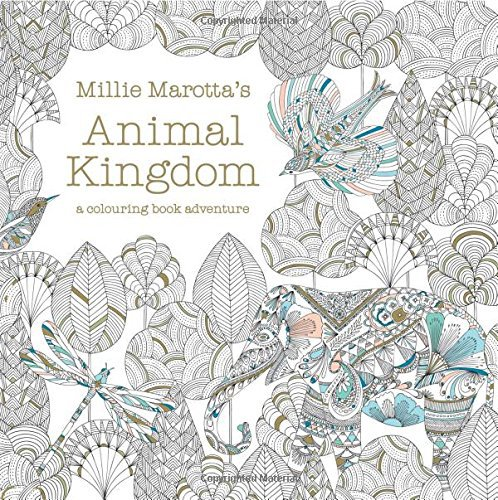 Original English Secret Garden Animal Kindom Coloring Book Adult Children Stress Relieve Graffiti Painting Drawing