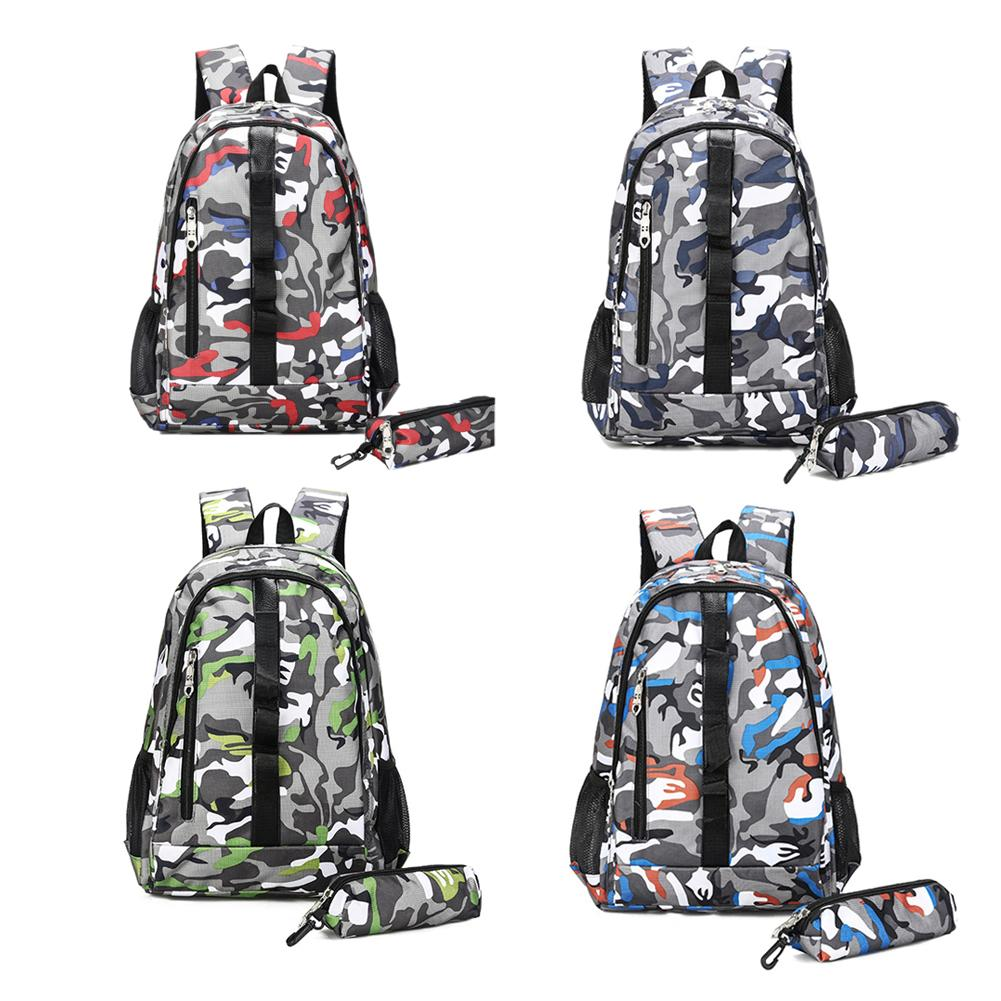 Campeggio Per Zainetto Trekkingtraveling Camouflage Dello Color Escursioni 2 Estivo Pz Color Capienza Grande Sacchetto Color orange Di Le blue Studente Zaino Scuola Red Color green xaOnW0W7wq
