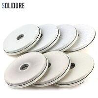 7pcs/set 4 inch 100mm white diamond edge polishing pads for wet polishing granite,marble edge
