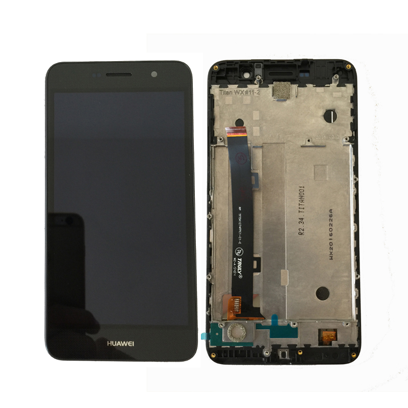 100% D'origine Pour Huawei Honor 4C Pro TIT-L01 Écran lcd Avec Écran Tactile Digitizer Assemblée Avec cadre Livraison Gratuite