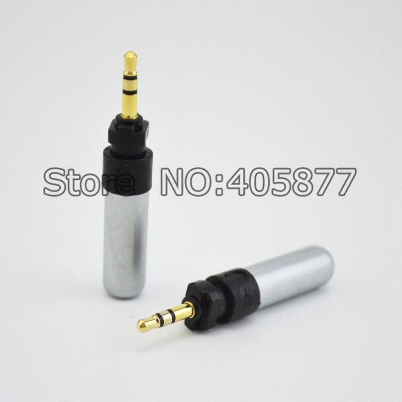 2 Pcs Earphone DIY 2.5mm Pin Adapter For Shure SRH940 SRH840 SRH750 SRH440 Headphone