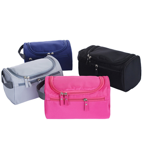 New Waterproof Men Hanging Makeup Bag Nylon Travel Organizer Cosmetic Bag for Women Necessaries Make Up Case Wash Toiletry Bag Multan