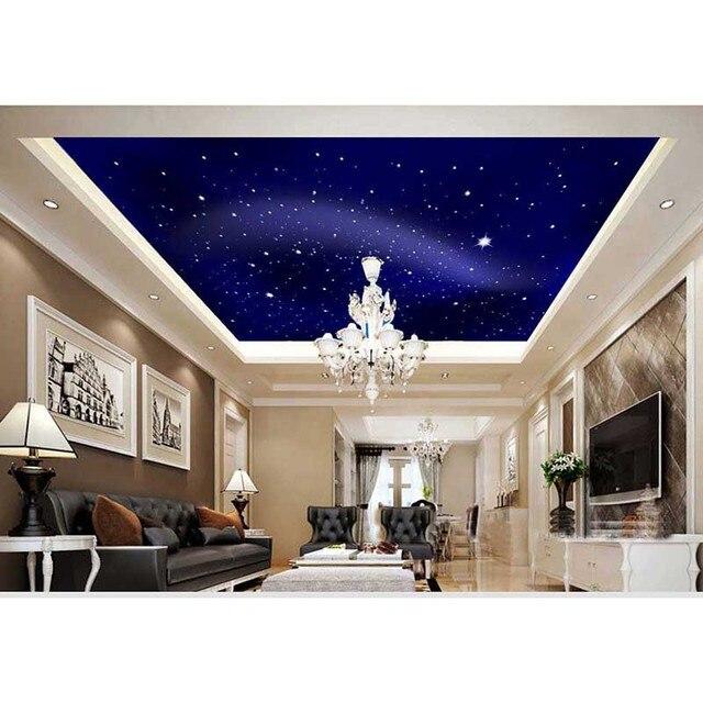 US $21.56 23% OFF|2016 neue 3D Star Sky Luxus Wohnkultur Tapeten Decke  wandbild Tapete Für Schlafzimmer Wohnzimmer 3D Aufkleber Papier Neue Marke  #10 ...