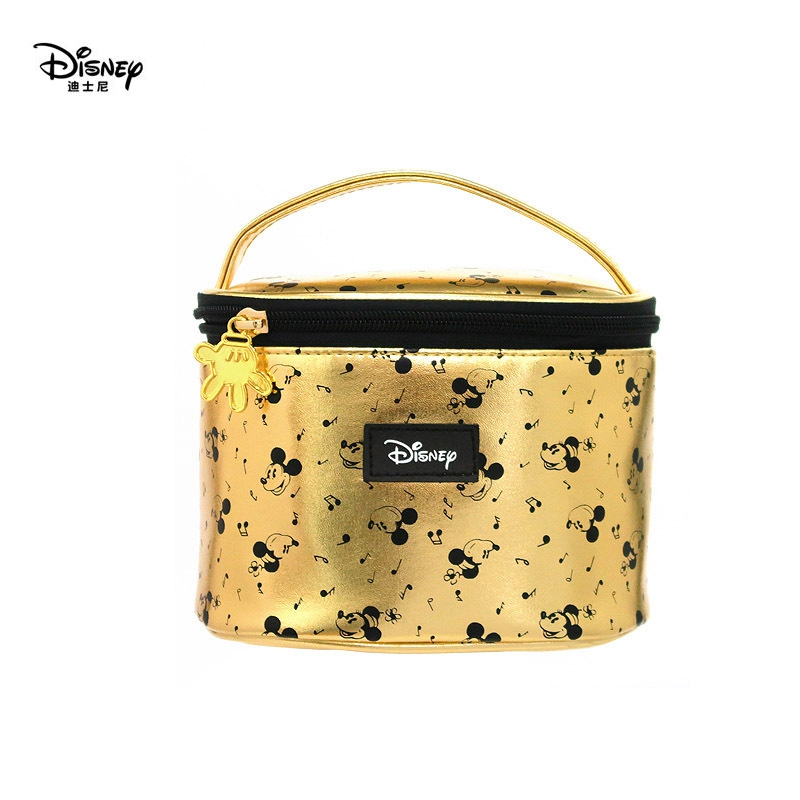 Genuine Disney Mickey Mouse Multi-function Women Cosmetic Bags Purse Baby Care Bag Fashion Mummy Bag Girls Gift Disney Hot Sale