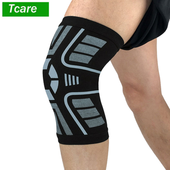 1Pcs Athletic Knee Brace Sports Knee Compression Sleeves Anti-Slip Knee Support for Running Yoga Meniscus Tear Joint Pain Relief veidoorn 1prs compression knee sleeves knee support for sports workout basketball joint pain relief knee brace for running