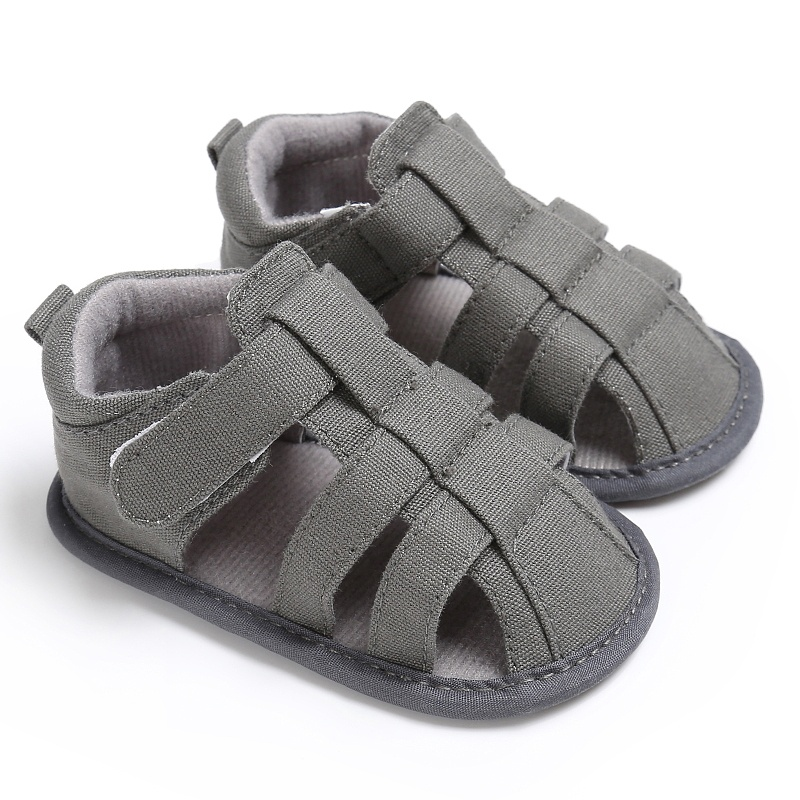 Summer Baby Sandals Newborn Baby Shoes Breathable Hollow Baby Boy Shoes Cotton Fashion Baby Girls Sandals