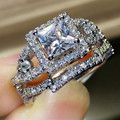 Womens jewelry vintage ring wedding engagement women rings bijoux ring set